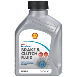 Shell Brake and Clutch Fluid DOT 4 ESL