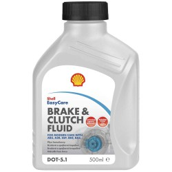 Shell Brake and Clutch Fluid DOT 5.1