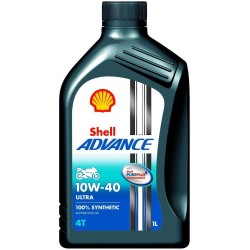 Shell Advance Ultra 4T 10W-40