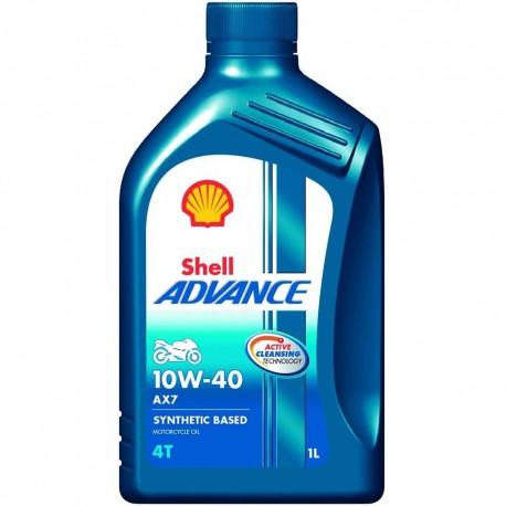 Shell Advance AX7 4T 10W-40